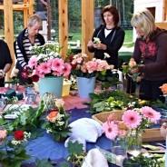Květinové workshopy