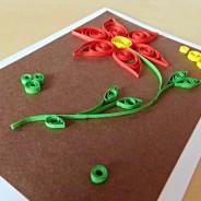 Quilling – tvoření z proužků papíru